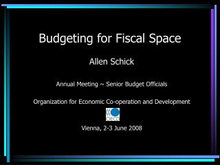 Budgeting for Fiscal Space