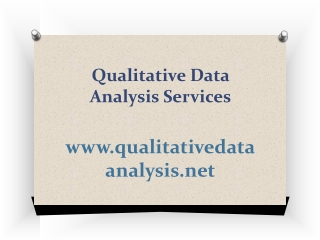 Qualitative Data Analysis Services
