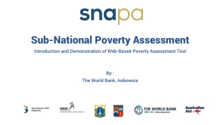 Sub-National Poverty Assessment
