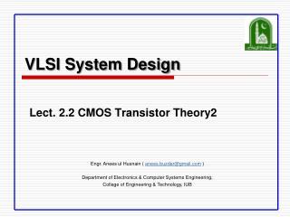 VLSI System Design