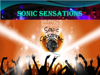 Experience the Sonic Boom!