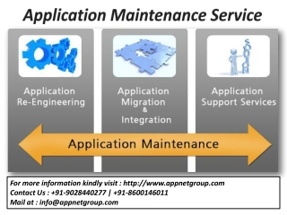 Application Maintenance|Service Offering