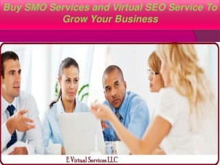 Buy SMO Services and Virtual SEO Service To Grow Your Busine