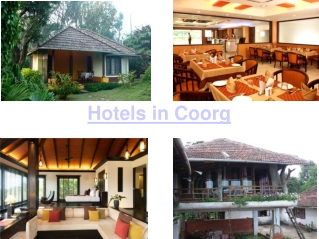 Coorg Places to Stay