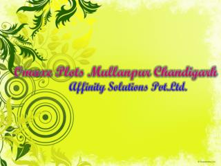omaxe mullanpur plots | 09999684905 | new chandigarh plots |