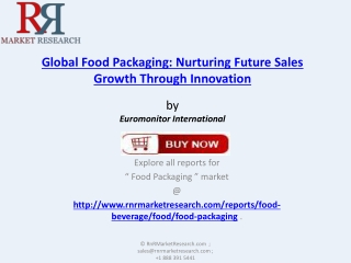 Global Food Packaging Market 2017 Forecasts