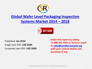 Analysis for Wafer Level Packaging Inspection Systems Market
