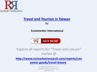 Travel and Tourism Industry Forecasts in Taiwan