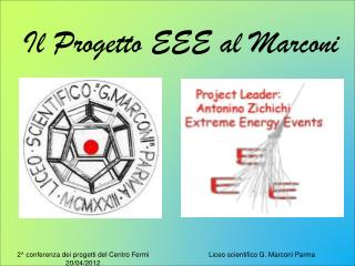 2^ conferenza dei progetti del Centro Fermi 20/04/2012