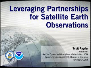 Leveraging Partnerships for Satellite Earth Observations