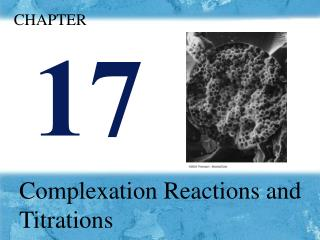 Complexation Reactions and Titrations