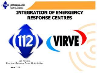Jari Juvonen Emergency Response  Centre Administration