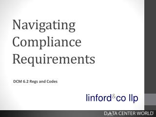 Navigating Compliance Requirements