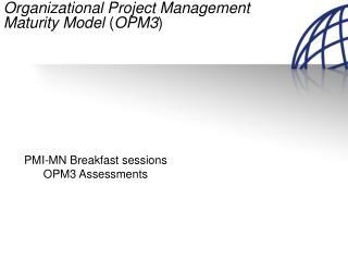 Organizational Project Management Maturity Model ( OPM3 )