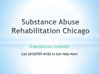 Substance Abuse Rehabilitation Chicago