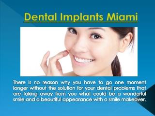 Dental Fillings Miami