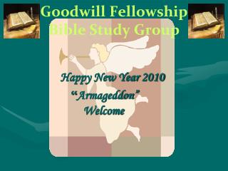 Goodwill Fellowship Bible Study Group