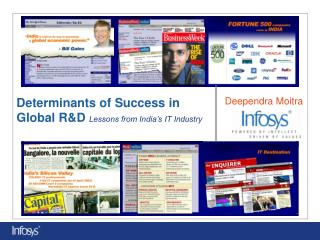 Determinants of Success in  Global R&D Lessons from India's IT Industry