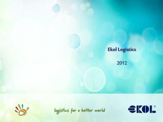E kol Logistics 2012
