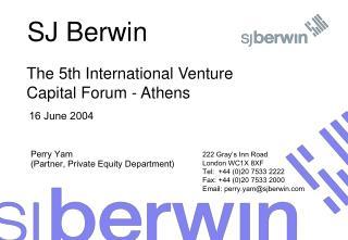 SJ Berwin