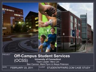 Off-Campus Student Services  (OCSS)