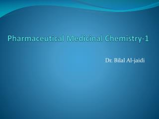 Pharmaceutical Medicinal Chemistry-1