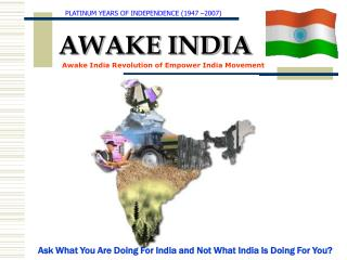 Click here to download the Awake India Day Presentation