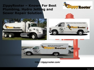 Sewer Repair Services - ZippyRooter