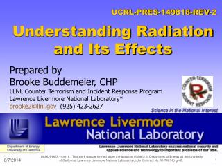 Understanding Radiation and Its Effects