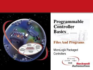 Programmable Controller Basics Files And Programs