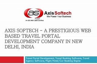 Travel Portal Development, Travel Booking Software, Travel A