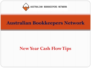 New Year Cash Flow Tips