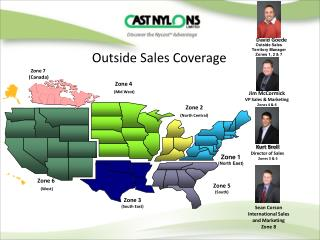 Outside Sales Coverage