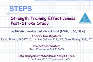 Strength Training Effectiveness  Post-Stroke Study