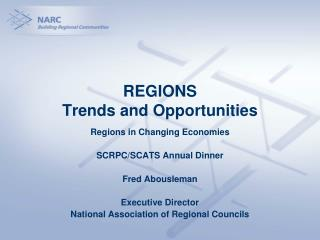 REGIONS  Trends and Opportunities