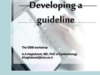 Developing a guideline