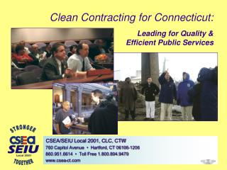Clean Contracting for Connecticut: