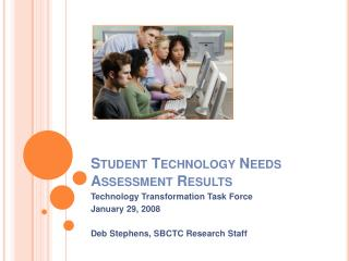 Student Technology Needs Assessment Results