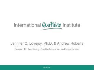 Jennifer C. Lovejoy, Ph.D. & Andrew Roberts