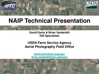 NAIP Technical Presentation