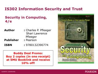 IS302 Information Security and Trust