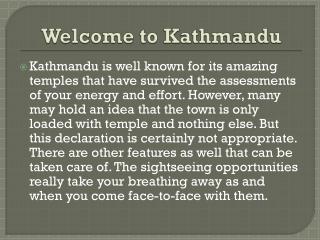 Kathmandu flights and Travel guide
