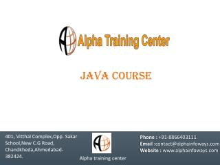 Alpha training center