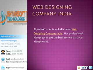 shyamsoft.com-A Complete Digital Marketing Solution at One P