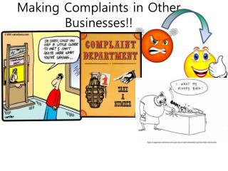 Making Complaints in Other Businesses