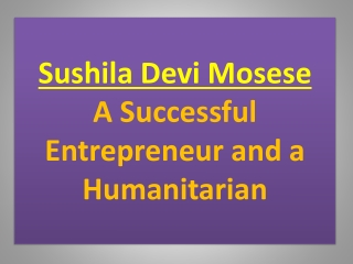 Sushila Devi Mosese