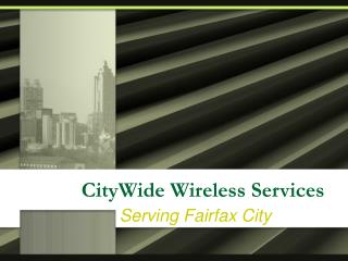 CityWide Wireless Services
