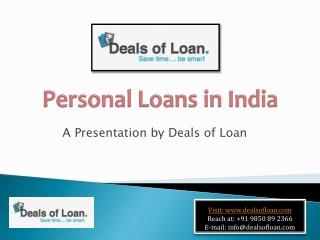 Deals of Loan
