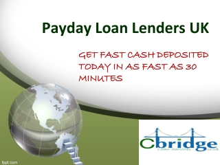 Payday loan lenders UK-finances Approved To perform Your Dem