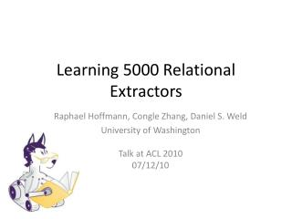 Learning 5000 Relational Extractors